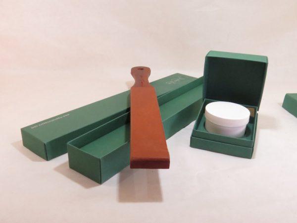 Coramella Rigida in legno con Crema Abrasiva