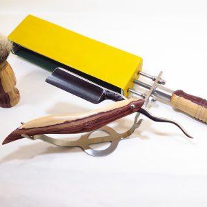 Tris da Rasatura Mastro Livi in legno di Pau Violeto